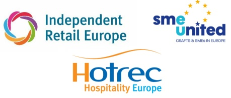 Digital Services Act – Joint statement of Independent Retail Europe, SMEunited, and HOTREC